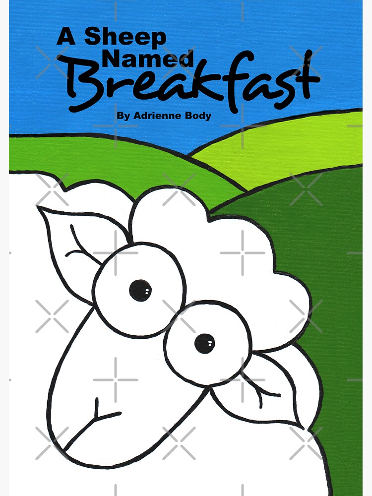 Cover Art - A Sheep Named Breakfast by AdrienneBody