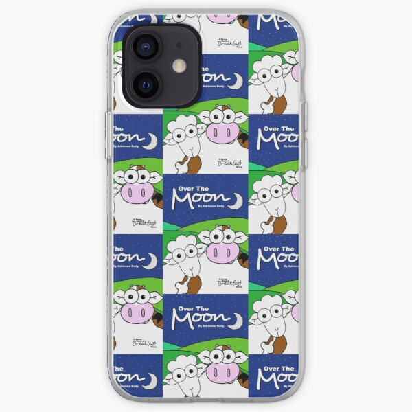 Cover Art - Over The Moon: A Sheep Named Breakfast Story iPhone Soft Case