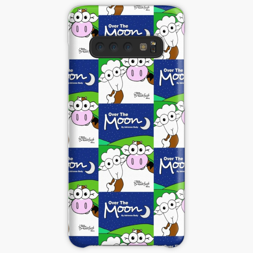 Cover Art - Over The Moon: A Sheep Named Breakfast Story Case & Skin for Samsung Galaxy