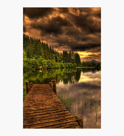 Journey Into Loch Ard Photographic Print