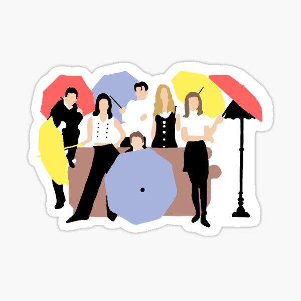 Friends couch - Warner Bros. Entertainment Inc. Sticker