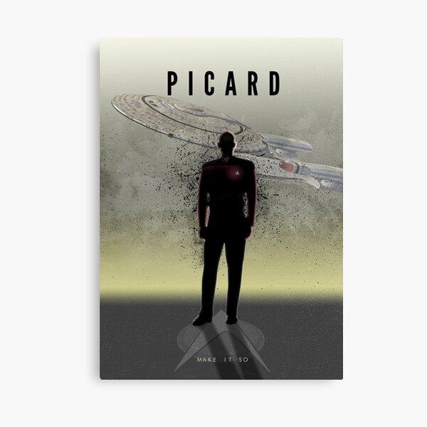 Star Trek Captains - Picard Canvas Print