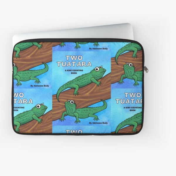 Cover Art - Two Tuatara Laptop Sleeve