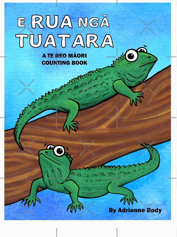 Cover Art - E Rua Nga Tuatara by AdrienneBody