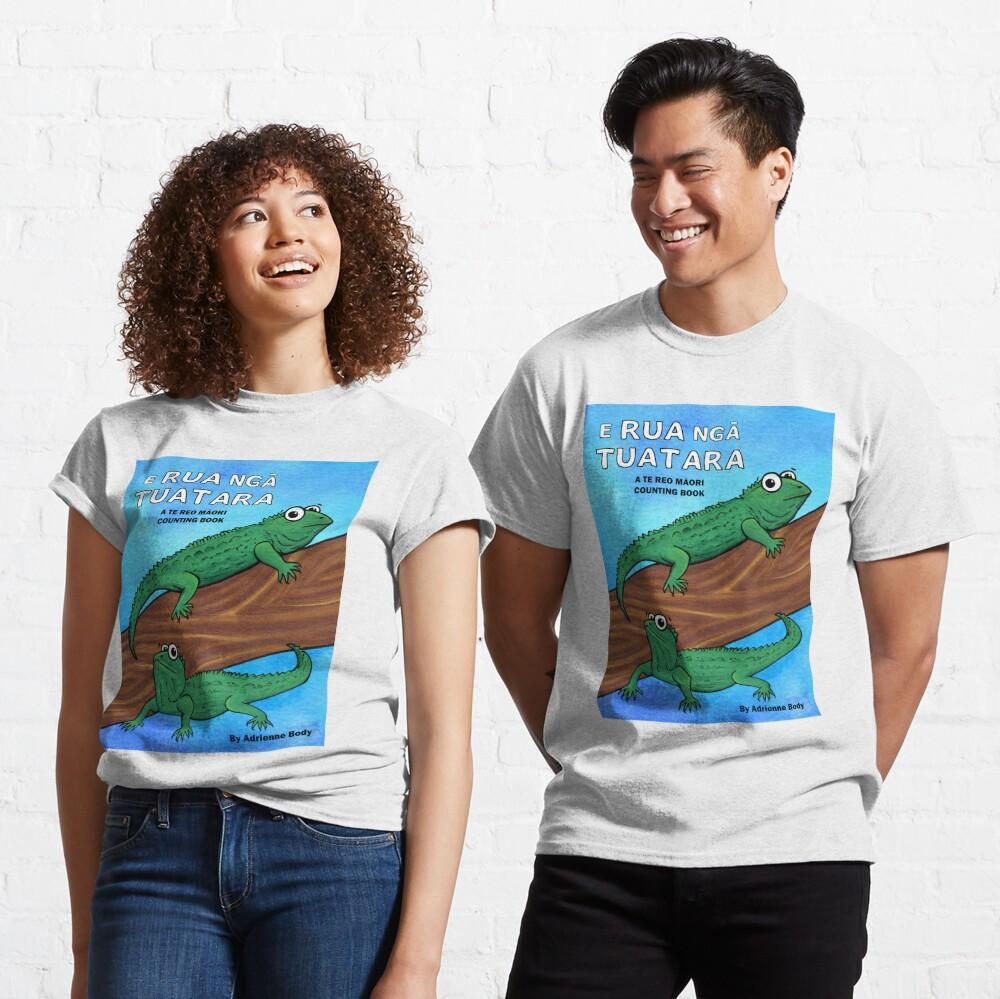 Cover Art - E Rua Nga Tuatara Classic T-Shirt