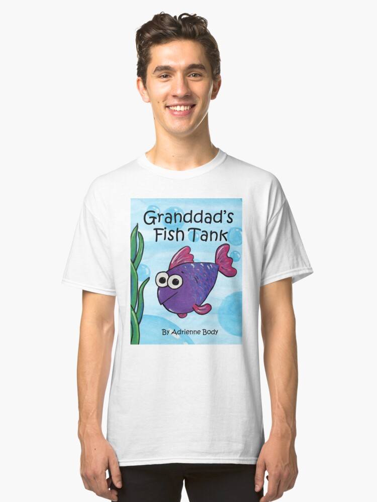 Alternate view of Cover Art - Granddad's Fish Tank Classic T-Shirt