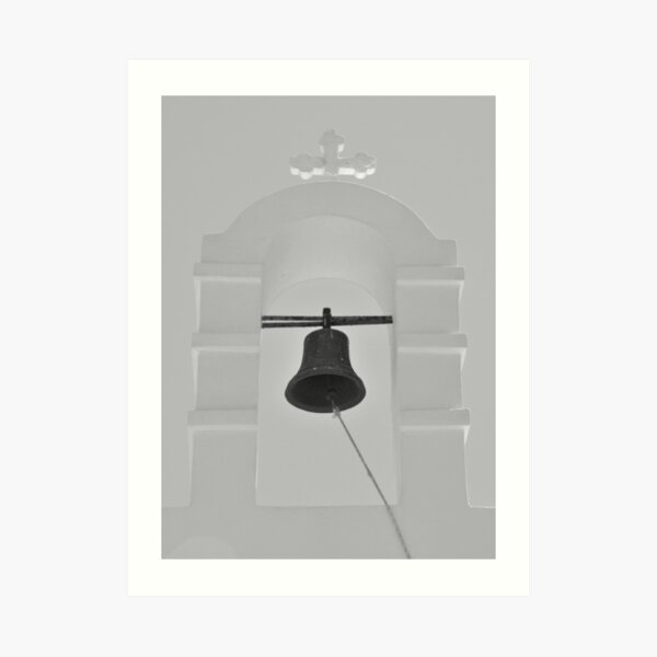 Tower and Bell Art Print