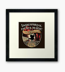 Industrial Film and Magic Framed Print