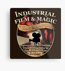 Industrial Film and Magic Metal Print