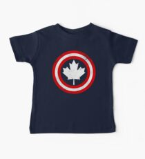 Captain Canada (White Leaf) Baby Tee