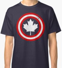 Captain Canada (White Leaf) Classic T-Shirt