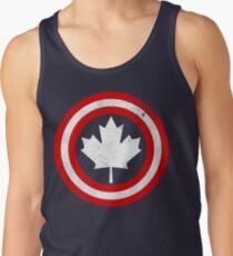Captain Canada (White Leaf) Tank Top