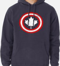 Captain Canada (White Leaf) Pullover Hoodie