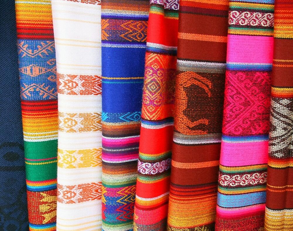 Ecuadorian Blankets by rhamm