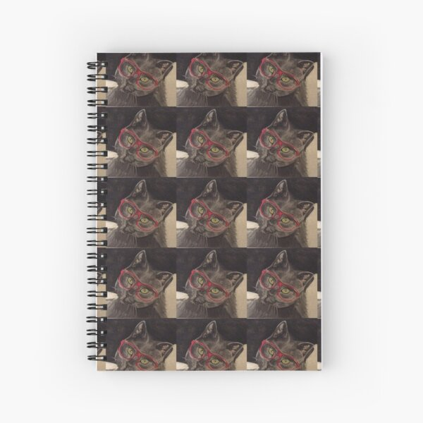 Cat 1 Spiral Notebook