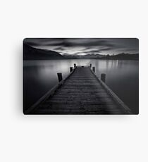 Wanaka Jetty Metal Print