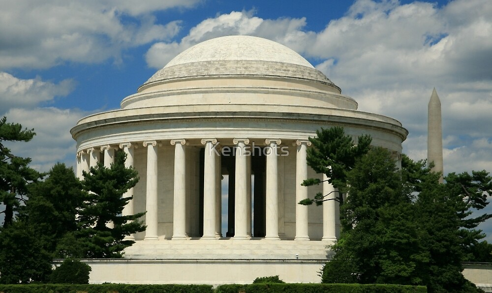 Jefferson Memorial 1678 color by Kenshots