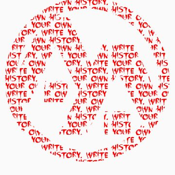 AA- Write history shirt by acdramon