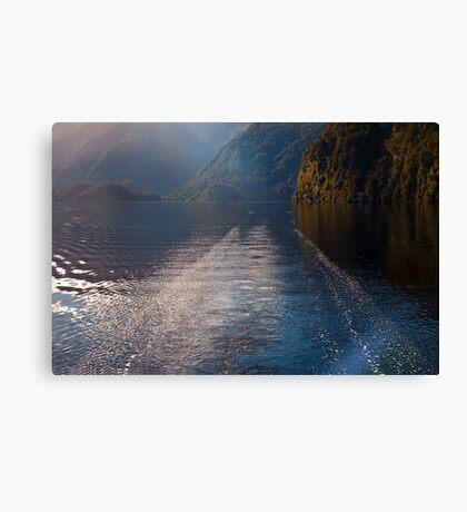 Mid Morning on Doubtful Sound Canvas Print