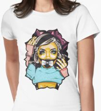 Dolly's Doll t-shirt Womens Fitted T-Shirt