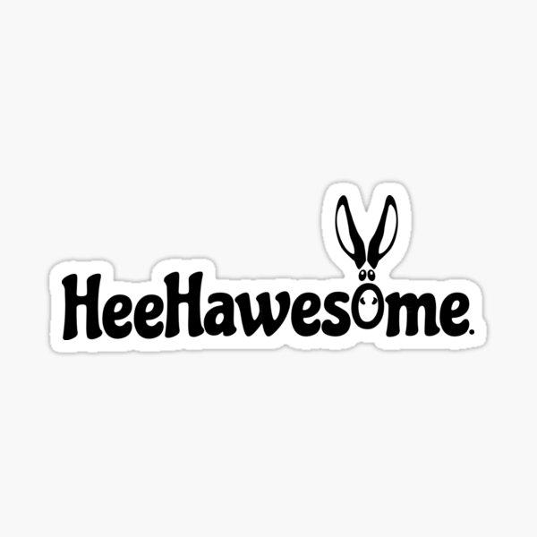 Dark HeeHawesome Sticker