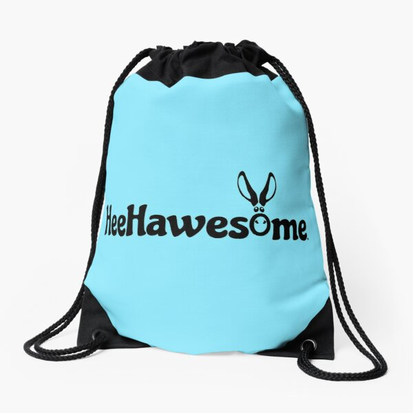 Dark HeeHawesome Drawstring Bag