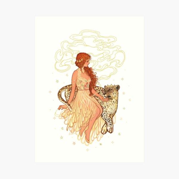 Ariadne and Dionysus Art Print