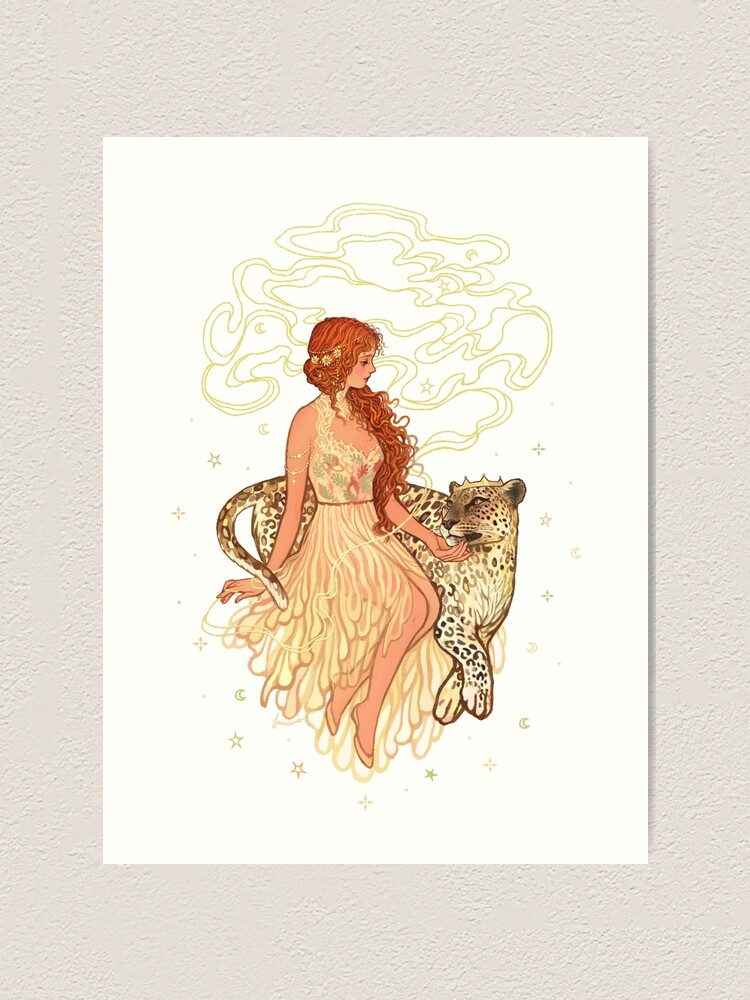 Alternate view of Ariadne & Dionysus Art Print