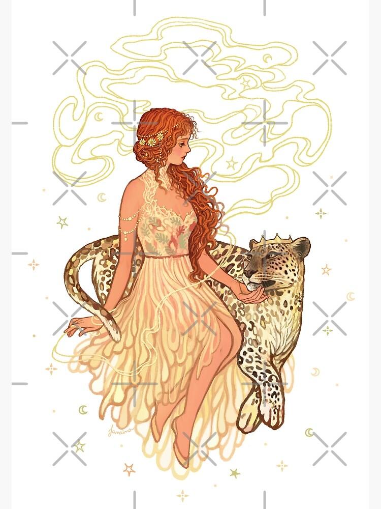 Ariadne and Dionysus by JanainaArt