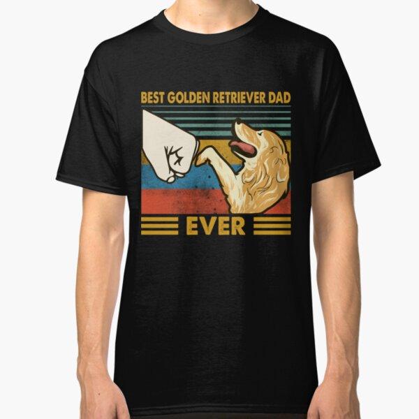 Best Golden Retriever Dad Ever Classic T-Shirt