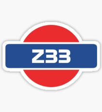 Z33 Badge Sticker