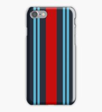 "Racing Livery ""Martini style"" iPhone Case/Skin"