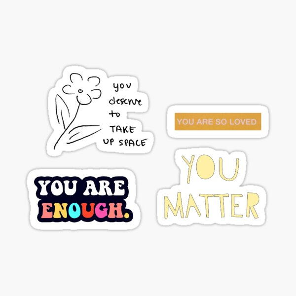 Positivity Pack #1 Sticker