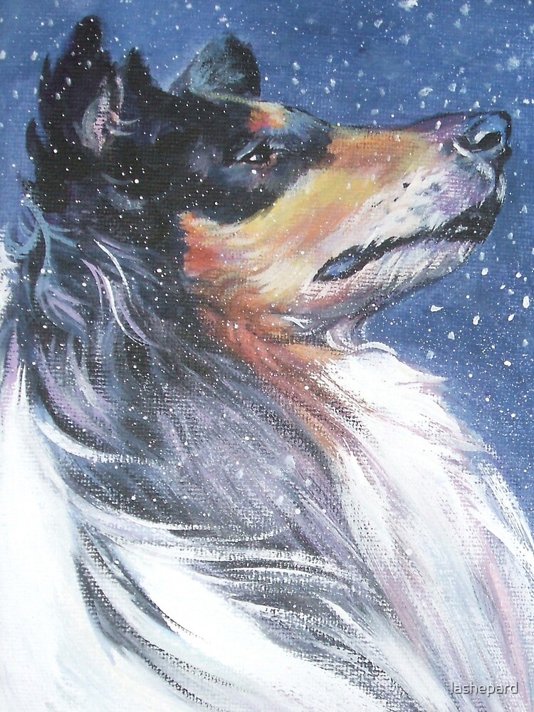 Collie Fine Art Painting by lashepard