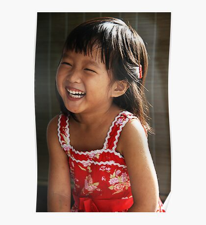 Joyful Girl Poster