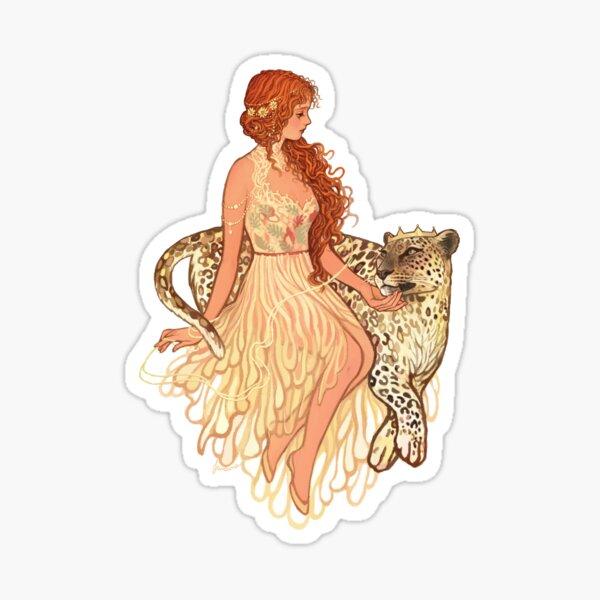 Ariadne and Dionysus Sticker