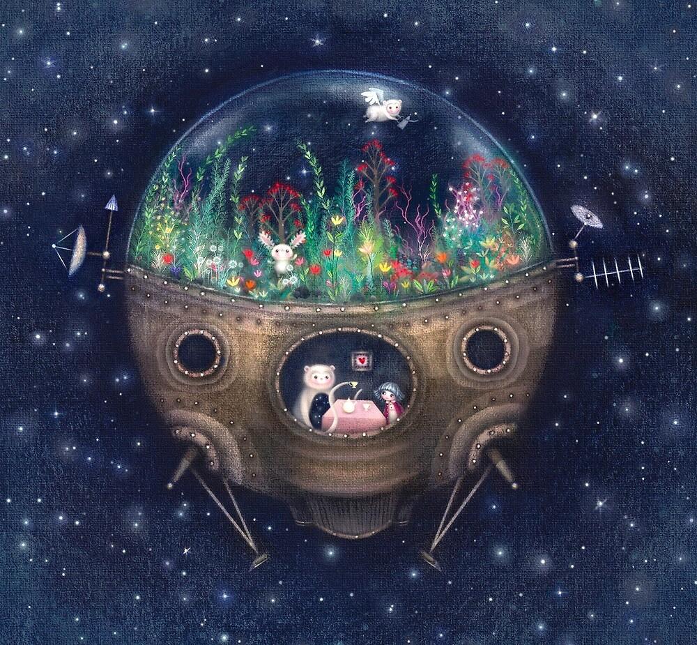 Space Home by Lisa Evans