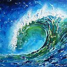 The wave's power by © Pauline Wherrell