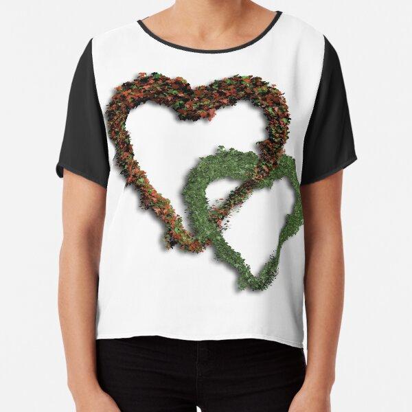 Ivy heart Chiffon Top