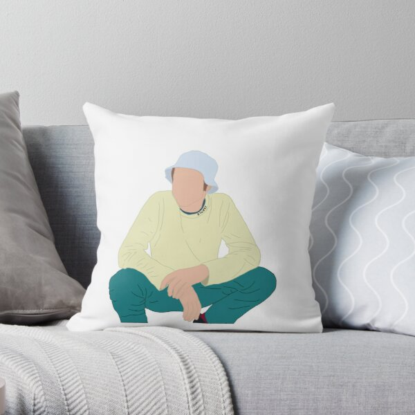 ruel drawing Throw Pillow