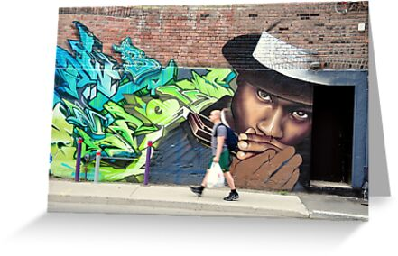 Montreal - The Jazzman by Jean-Luc Rollier