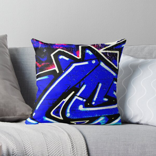 Graffiti 13 Throw Pillow