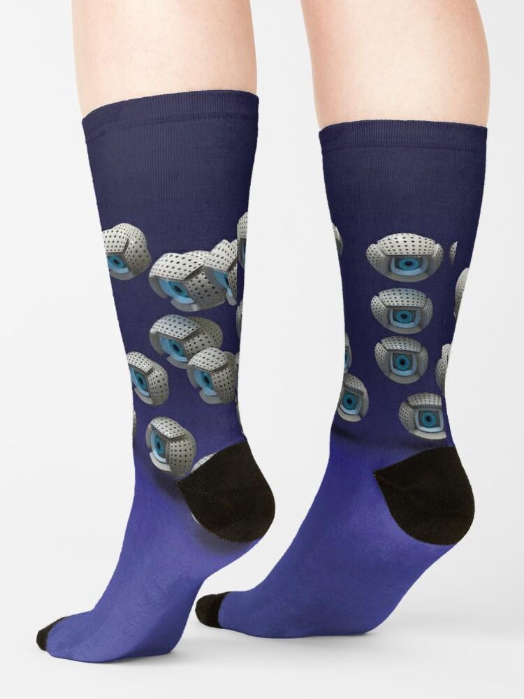 Alternate view of all eyes on me Socks