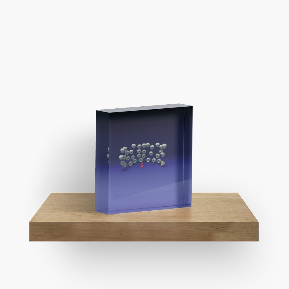 all eyes on me Acrylic Block