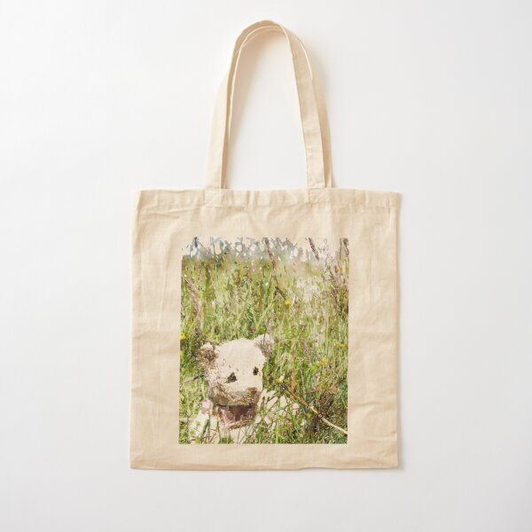 JoJobear Meadow Field Cotton Tote Bag
