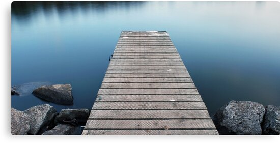 Tranquil Jetty by Andrew Hocking