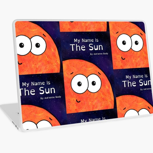Cover Art - My Name Is The Sun Laptop Skin