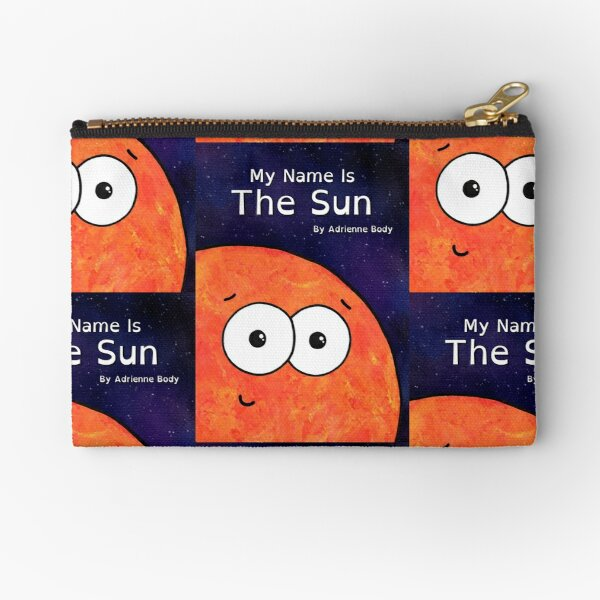 Cover Art - My Name Is The Sun Zipper Pouch