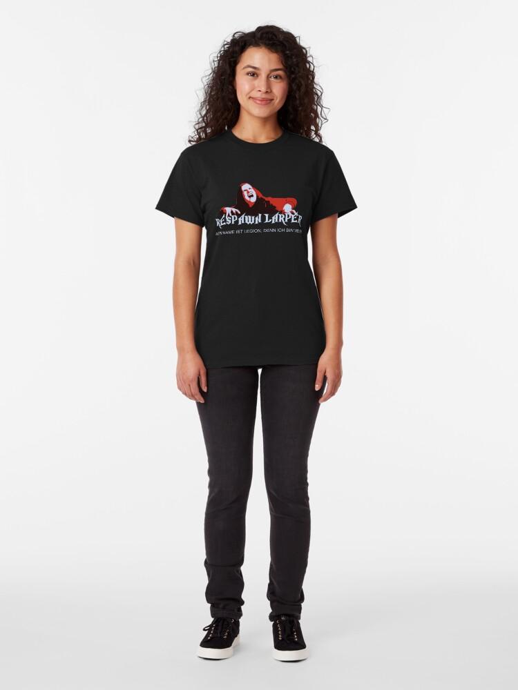 Alternate view of RespawnLARPer - My name is Legion Classic T-Shirt