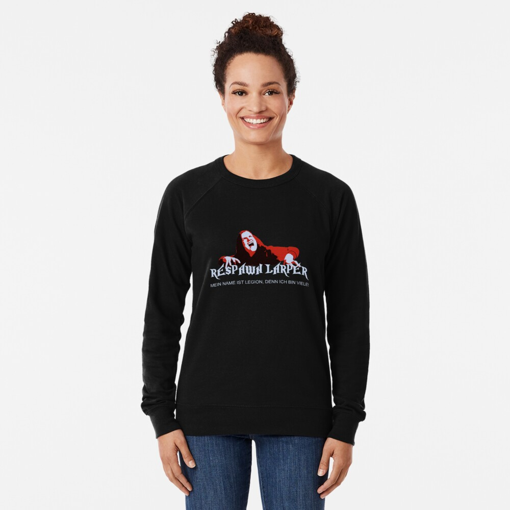 RespawnLARPer - My name is Legion Lightweight Sweatshirt